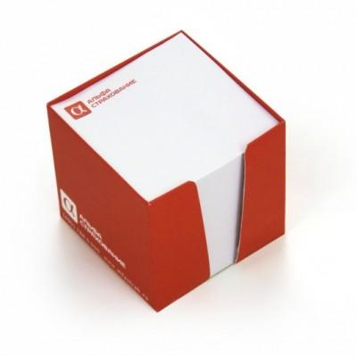 Кубарик, бумага 300гр./м2,  ламинация 24мкм, блок 500 листов( печать в 1 цвет), 25шт.