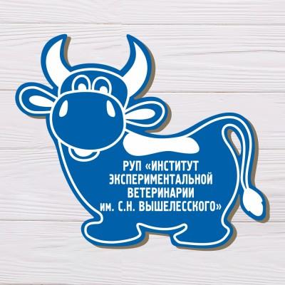 Брелок Корова, 50*43мм.