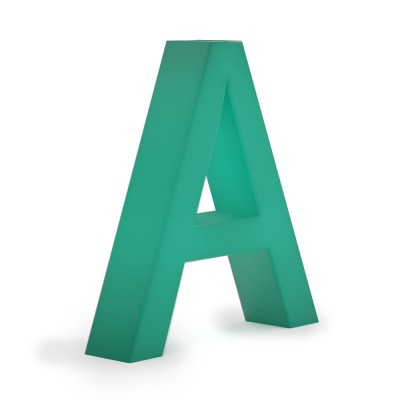 Объемные буквы без подсветки . Без металла