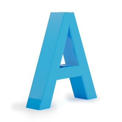 Объемные буквы без подсветки . С металлом