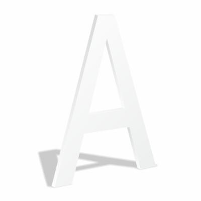 Объемные буквы без подсветки из вспененного пвх