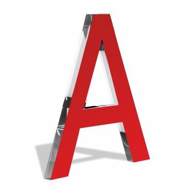 Объемные буквы без подсветки Оргстекло комбинация оргстекло+ цветной акрил