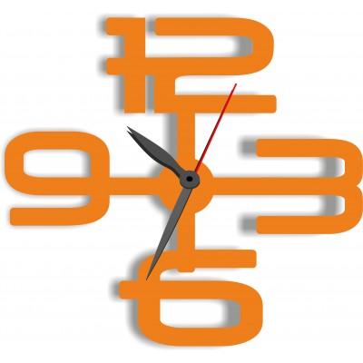Часы из оргстекла цифры