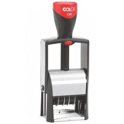 Colop S2360 Датер металлический под прямоугольный штамп 30*45мм.