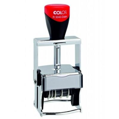 COLOP Expert R 3040/8 Microban Dater. Датер металлический почтовый d 40мм.