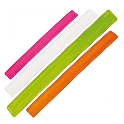 Фликеры-полоски (фликеры-браслеты, на рукав) с логотипом и надписью 100шт.