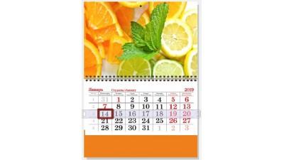 Когда лучше  заказать календарь, чтобы поздравить партнеров вовремя с Новым годом!
