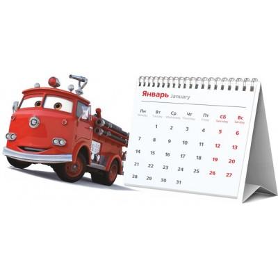 Календарь-домик с перекидными сетками,  цифровая печать + ЛАЗЕРНАЯ РЕЗКА, сетка ИНДИВИДУАЛЬНАЯ