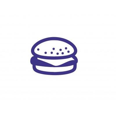 Штамп для акций бургер №52