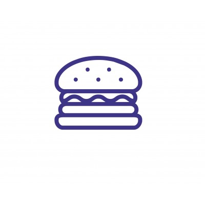 Штамп для акций бургер №55