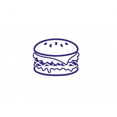 Штамп для акций бургер №56