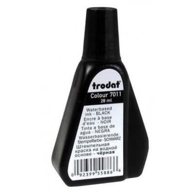 Штемпельная краска ТRODAT 7011/colop 801/shiny s-61/  черная