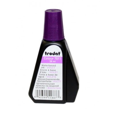 Штемпельная краска ТRODAT 7011/colop 801/shiny s-64/  фиолетовая