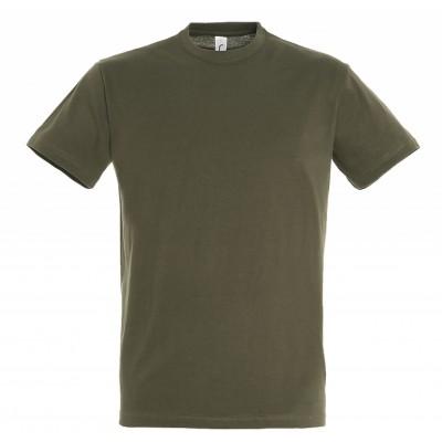 Футболки (футболка) Regent мужская, темный хаки, арт. АФМ11380_269