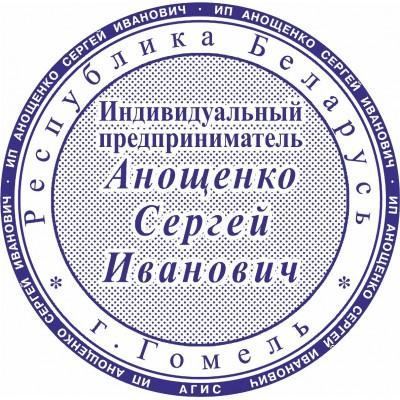 Печать для ИП. Образец №18