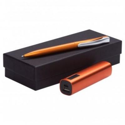 """Набор подарочный """"ручка+внешний аккумулятор"""""""
