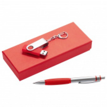 """Набор подарочный """"ручка+флешка"""""""
