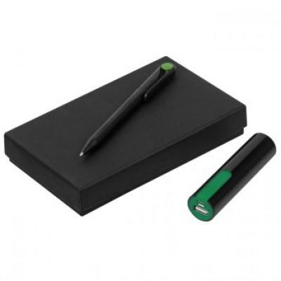 """Набор подарочный """"ручка шариковая+внешний аккумулятор"""""""