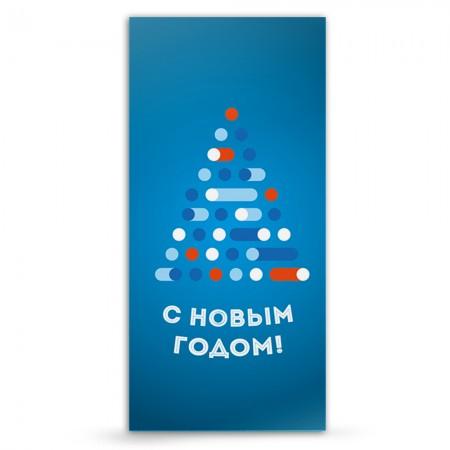 """Новогодняя открытка """"с новым годом №13"""""""