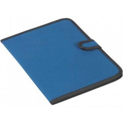 Папка   А4 формата с карманом и держателем для ручки, на липучке