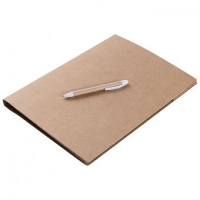Папка А4 Fact-Folder  c блокнотом