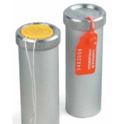 Пенал для ключей 150*40мм. с возможностью опечатывания, алюминий