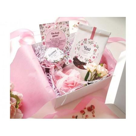 """Набор подарочный """"Лепестки из розы"""""""