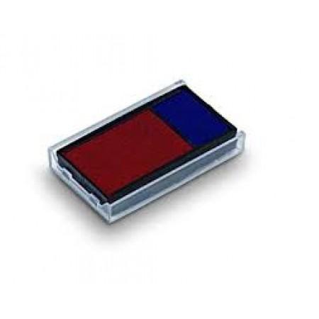 Подушка штемпельная сменная 6/4912 2-х цветная  (Trodat 4912 , 4912db, 8902)
