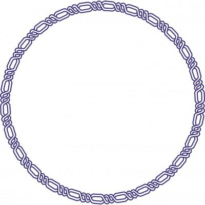 Штамп рамка №15