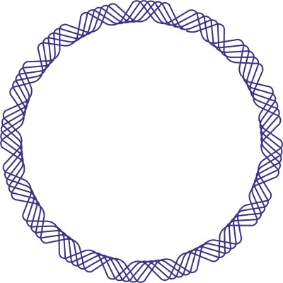 Штамп рамка №4