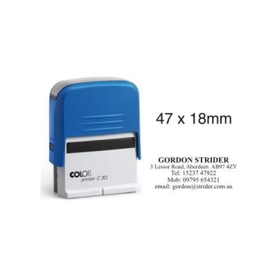 Colop Printer С30 Оснастка для штампа 18*47мм.