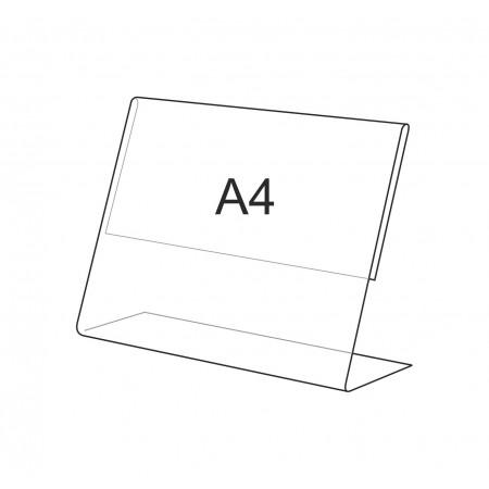 Меню-холдер, А4, односторонняя подставка