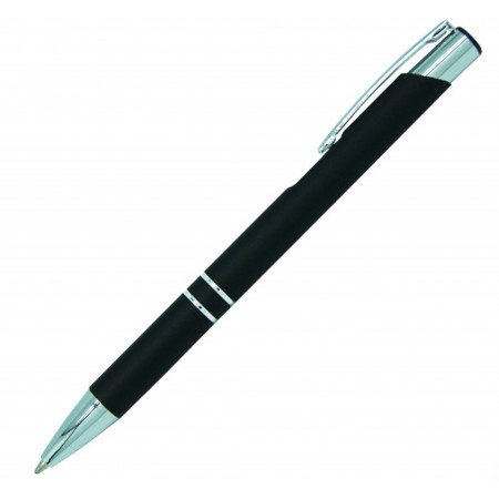 Ручка шариковая OLEG Soft Touch, металл,  арт. АРМ12575