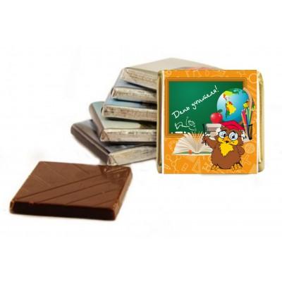 Шоколад с логотипом, 100шт.,  арт.2