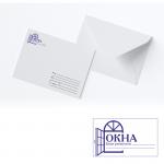 Штамп на конверт 48*28мм.