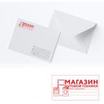 Штамп-визитка на конверт 58*31мм.