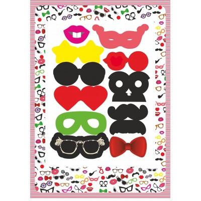 Набор из масок для детского праздника Арт4