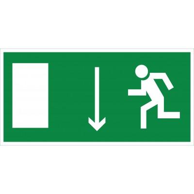 Е10 Указатель двери эвакуационного выхода (левосторонний)