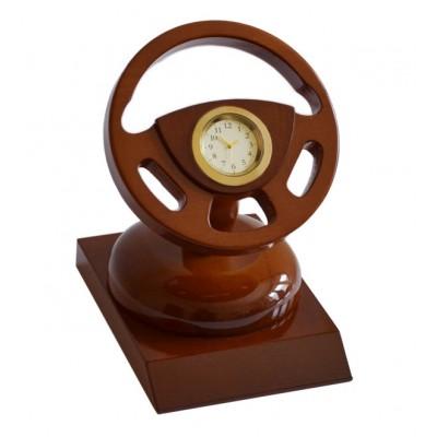 Настольные часы Руль, на подставке, арт. АЗТБА08
