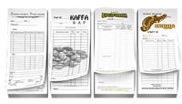 Вкладыши в папки для меню и счетов